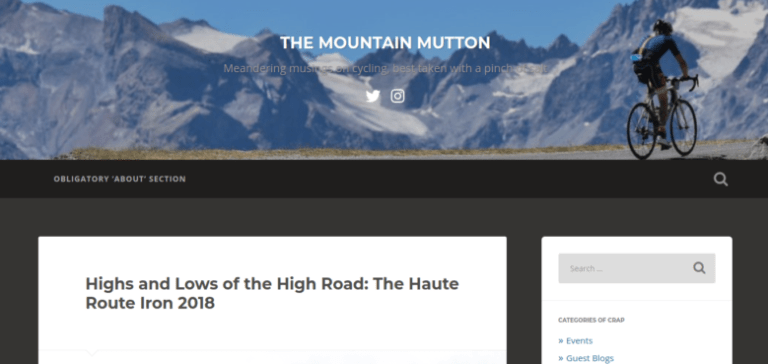 Highs and Lows of the High Road: The Haute Route Iron 2018