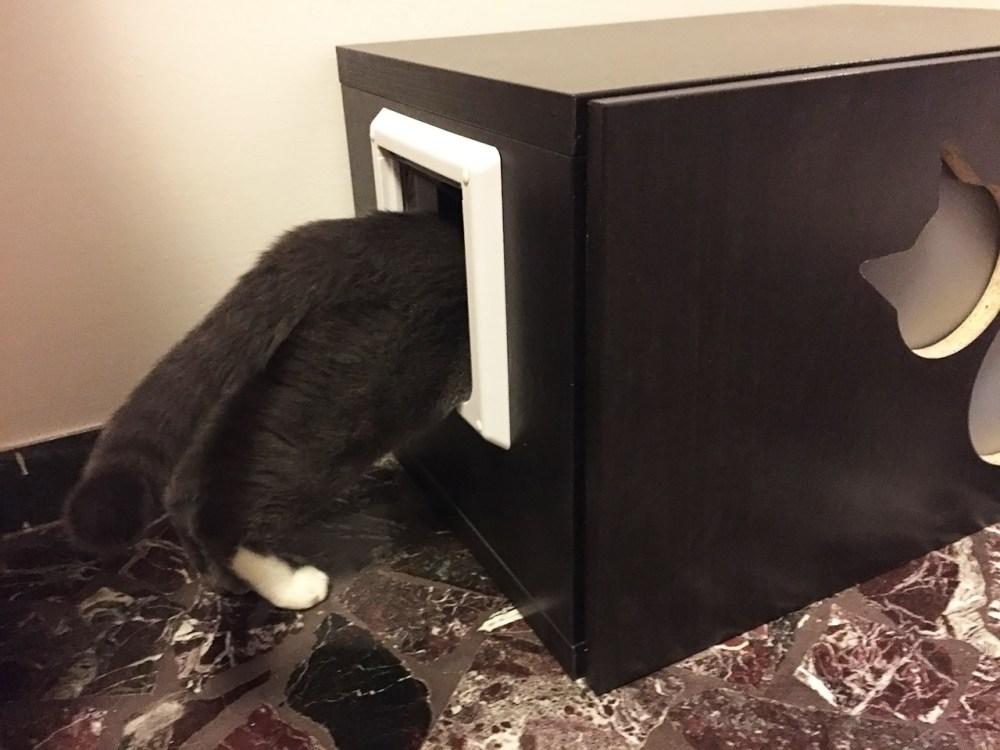 Mobile copri lettiera per gatti