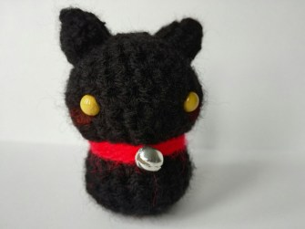Amigurumi Gatto Lana Fatto a Mano Made in Italy