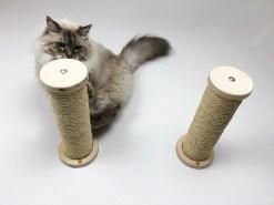 Tiragraffi a parete per gatti
