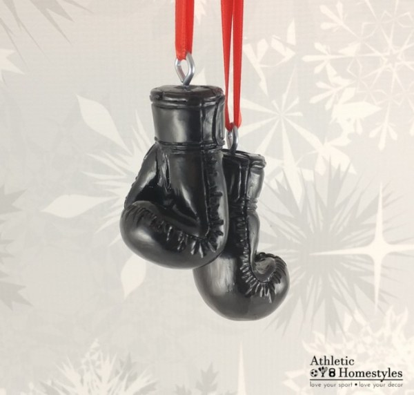 Boxing Glove Christmas Ornament