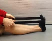Longsitting Calf Stretch