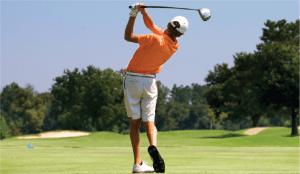 junior golf back swing