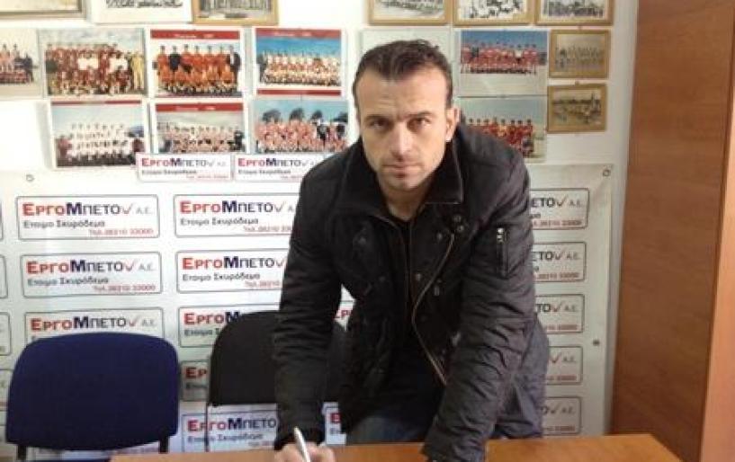 Αλκης Δημήτρης: «Θα δώσω τον καλύτερο μου εαυτό»