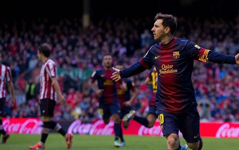 Ποδοσφαιρική μαγεία από τον Μέσι (vds)