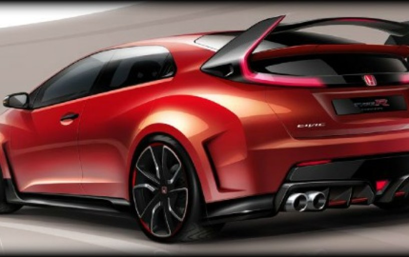 Honda Civic Type R concept στη Γενεύη