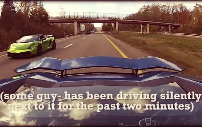 Βόλτα στη Νέα Υόρκη με μια Lamborghini