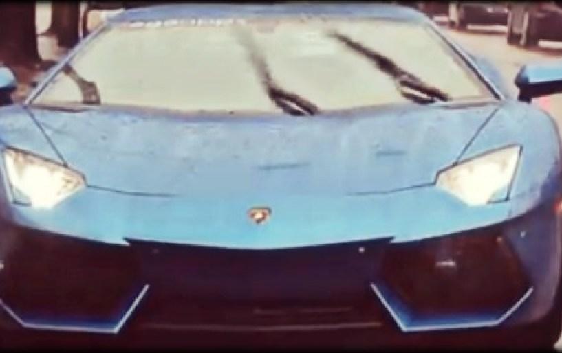 Τι κάνεις όταν βλέπεις μια Lamborghini;
