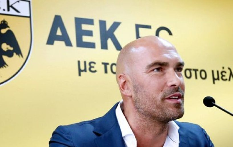 Ομιλία με τους αρχηγούς της ΑΕΚ είχε ο Μαϊστόροβιτς