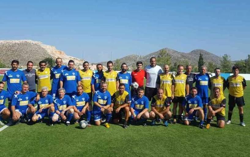 Μεγάλη επιτυχία στο τουρνουά παλαιμάχων της Δαμάστας