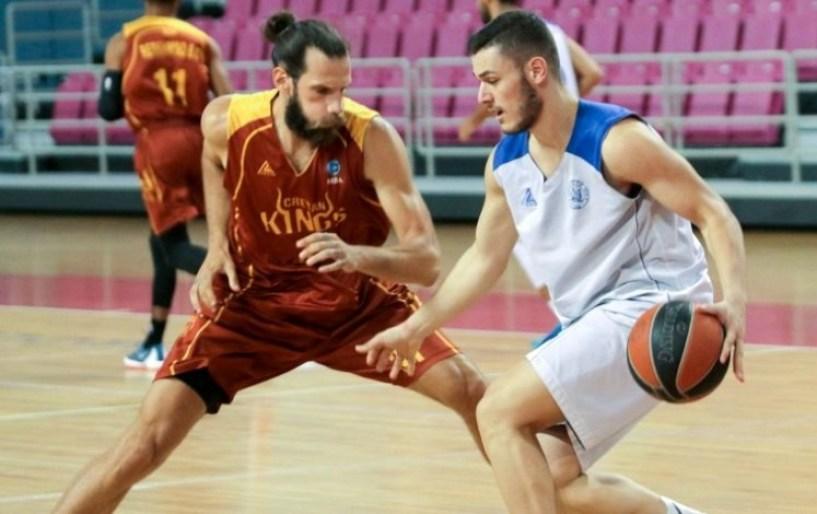 """Πρώτο φιλικό τζάμπολ για """"Ηράκλειο"""" και Ρέθυμνο Cretan Kings"""