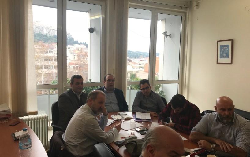 Στην Αθήνα για έργα του ΕΣΔΑΚ ο Χάρης Μαμουλάκης