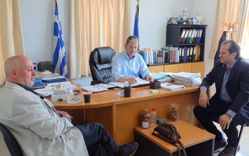 Με τον Δήμαρχο Γόρτυνας συναντήθηκε η «Αναγέννηση»