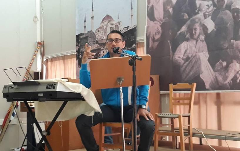 Oμιλία για τόνωση ηθικού από τον Ολυμπιονίκη