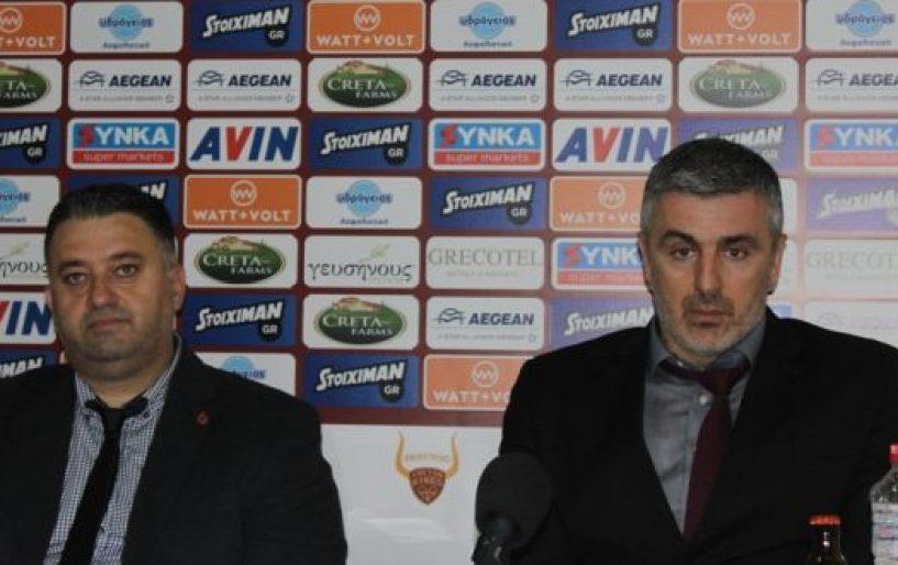 Βετούλας:«Θα κυνηγήσουμε άλλες 3 νίκες για τα πλέι-οφ»