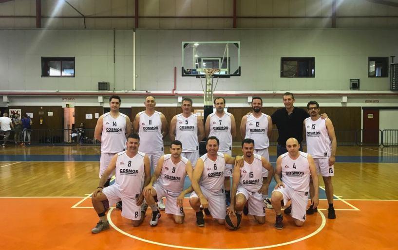 Με το «αριστερό» μπήκαν οι βετεράνοι του Ηράκλειο στο 6ο Maxibasketball