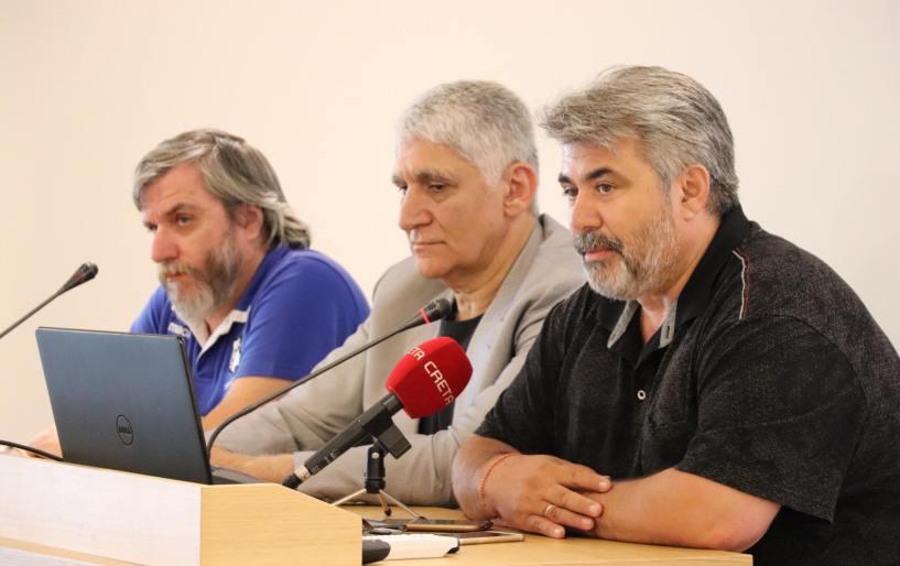 """Γιαννάκης: """"Η Κρήτη έχει πολύ καλό μπασκετικό υλικό"""""""