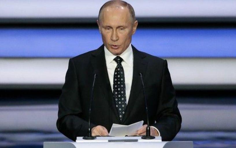 O Πούτιν, καλωσόρισε τις Eθνικές ομάδες και τους φιλάθλους