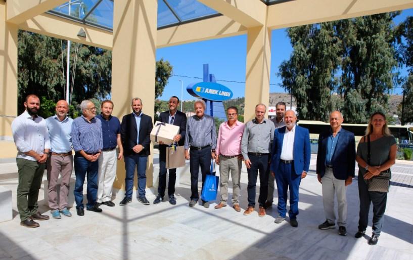 Η ΑΝΕΚ LINES Πρέσβειρα του ελληνικού πολιτισμού, του τουρισμού και της γαστρονομίας
