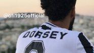 Ο Ντόρσεϊ και η… φανέλα του ΟΦΗ με το όνομά του!