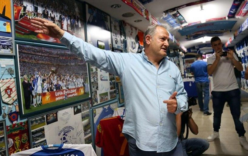 """Ο Νίκος Φλέκκας στον Athletic Radio 104.2: """"Στόχος μου να μεταφέρω το μουσείο σε όλη την Ελλάδα"""""""