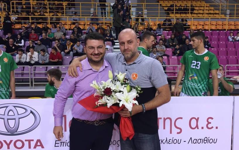 Ο ΟΦΗ δεν ξέχασε την προσφορά του Γωνιωτάκη στην ομάδα