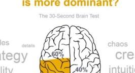 Ποια πλευρά του εγκεφάλου μας είναι κυρίαρχη;
