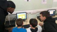 H έκπληξη του Ρεθύμνου Cretan Kings στους μικρούς μαθητές…