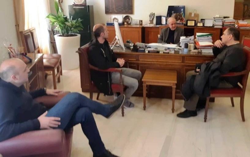 Λαμπρινός: «Tο Παγκρήτιο είναι πανέτοιμο να φιλοξενήσει την Εθνική»