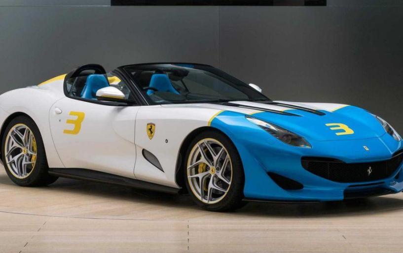 Ferrari SP3JC: Η F12tdf σε νέες σχεδιαστικές περιπέτειες