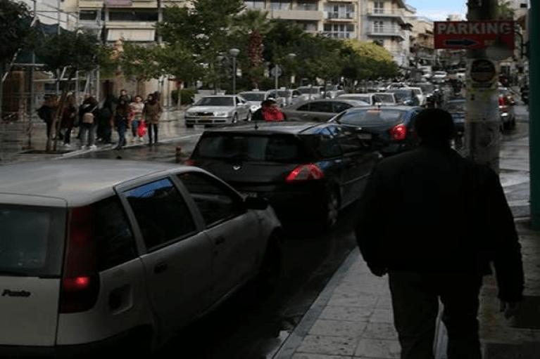 Traffic στο κέντρο της πόλης κι όχι μόνο