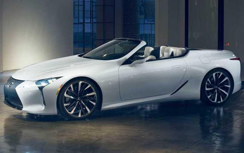 Lexus LC Convertible Concept: Νέα, εξωστρεφής δυναμική