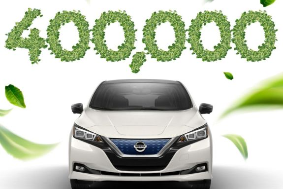Nissan Leaf: Το πρώτο ηλεκτροκίνητο που σπάει το φράγμα των 400.000 μονάδων