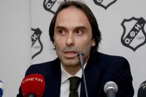 Τι ανέφερε ο Πουρσανίδης για την οριστική διακοπή του πρωταθλήματος