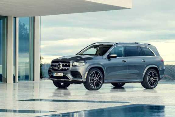 Mercedes-Benz GLS 2020: Δύναμη επιβολήS