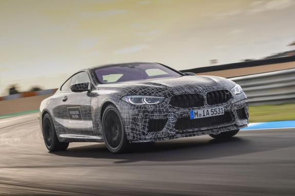 BMW M8 2019: Ραντεβού το Σεπτέμβρη