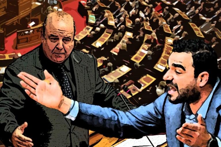Τον λαό που έστειλε στη Βουλή τον Χαϊκάλη και τον Κωνσταντινέα δεν τον φοβάσαι