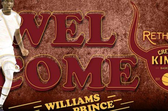 Eπιβεβαίωση με Πρινς Ουίλιαμς