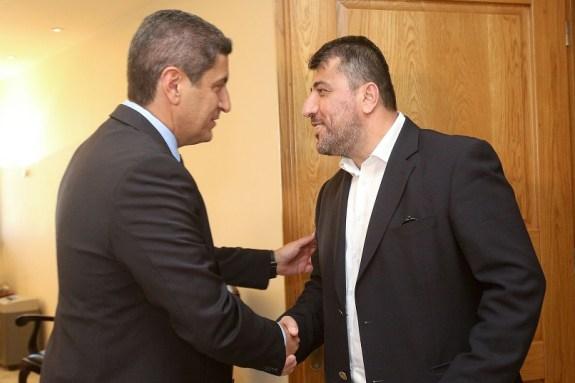 Συνάντηση του Αυγενάκη με την ΕΠΟ για τα τηλεοπτικά της Super League 2