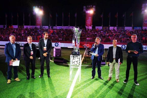 """Το Μουντιάλ μίνι ποδοσφαίρου """"SOCCA World Cup"""" ξεκίνησε στο Ρέθυμνο"""