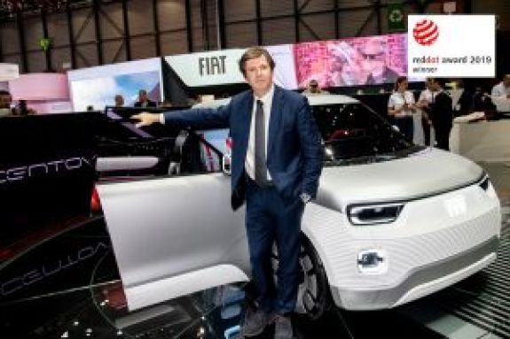 Στο Fiat Concept Centoventi το Red Dot Award 2019