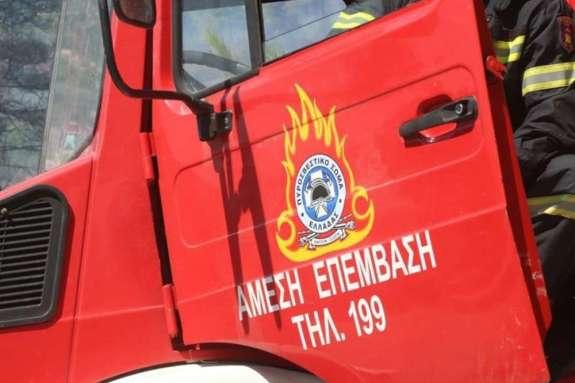 Φωτιά σε αυτοκίνητο στο Ακρωτήρι
