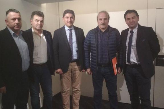 Τέθηκαν τα προβλήματα του ερασιτεχνικού ποδοσφαίρου στον Αυγενάκη
