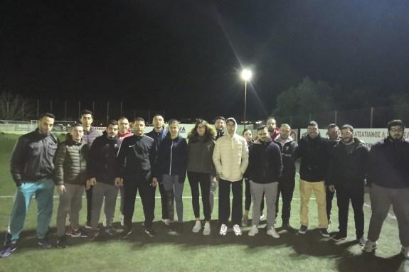 Συνεχίζονται τα πρακτικά μαθήματα για τους νέους διαιτητές