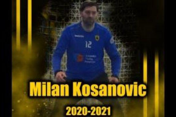 Ανανέωσε και ο Κοσάνοβιτς με την ΑΕΚ