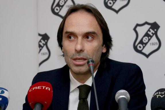 """Πουρσανίδης: """"Να στείλουμε το μήνυμα πως το Ελληνικό ποδόσφαιρο μπορεί να τα καταφέρει και στις αντίξοες συνθήκες"""""""