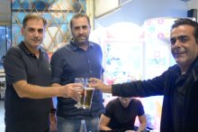 Video   Δείπνο παρέθεσε στην ΠΑΕ Εργοτέλης ο Γιώργος Σουλτάτος