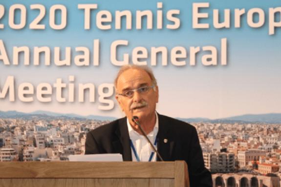Ο Σπύρος Ζαννιάς εξελέγη στο Δ.Σ. της Ευρωπαϊκής Ομοσπονδίας Τένις