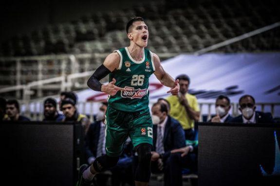Νέντοβιτς : MVP της πέμπτης αγωνιστικής στη Euroleague