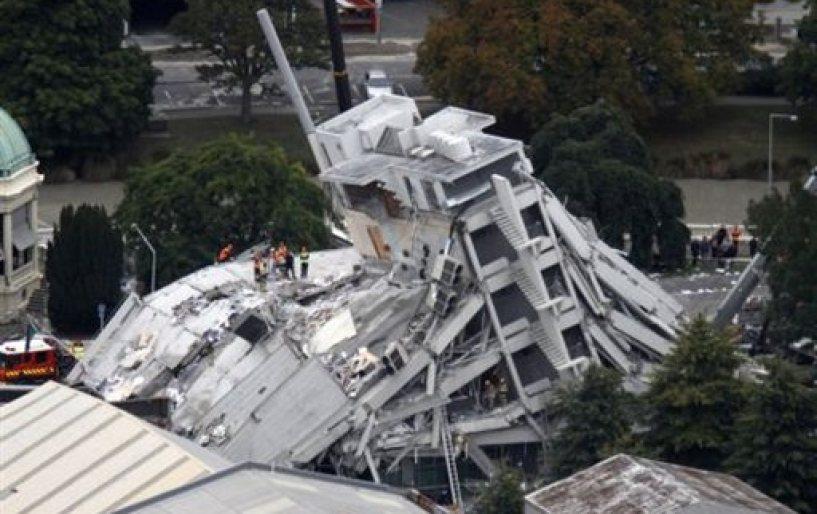 Εικόνες αποκάλυψης στη Νέα Ζηλανδία